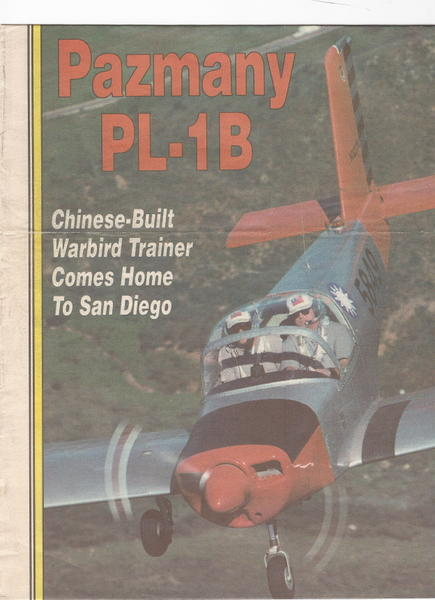 Pazmany_PL-1B_Chinese-Build_Warbird