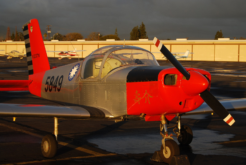 ROC Taiwan Airforce PL-1B Parked at El Monte